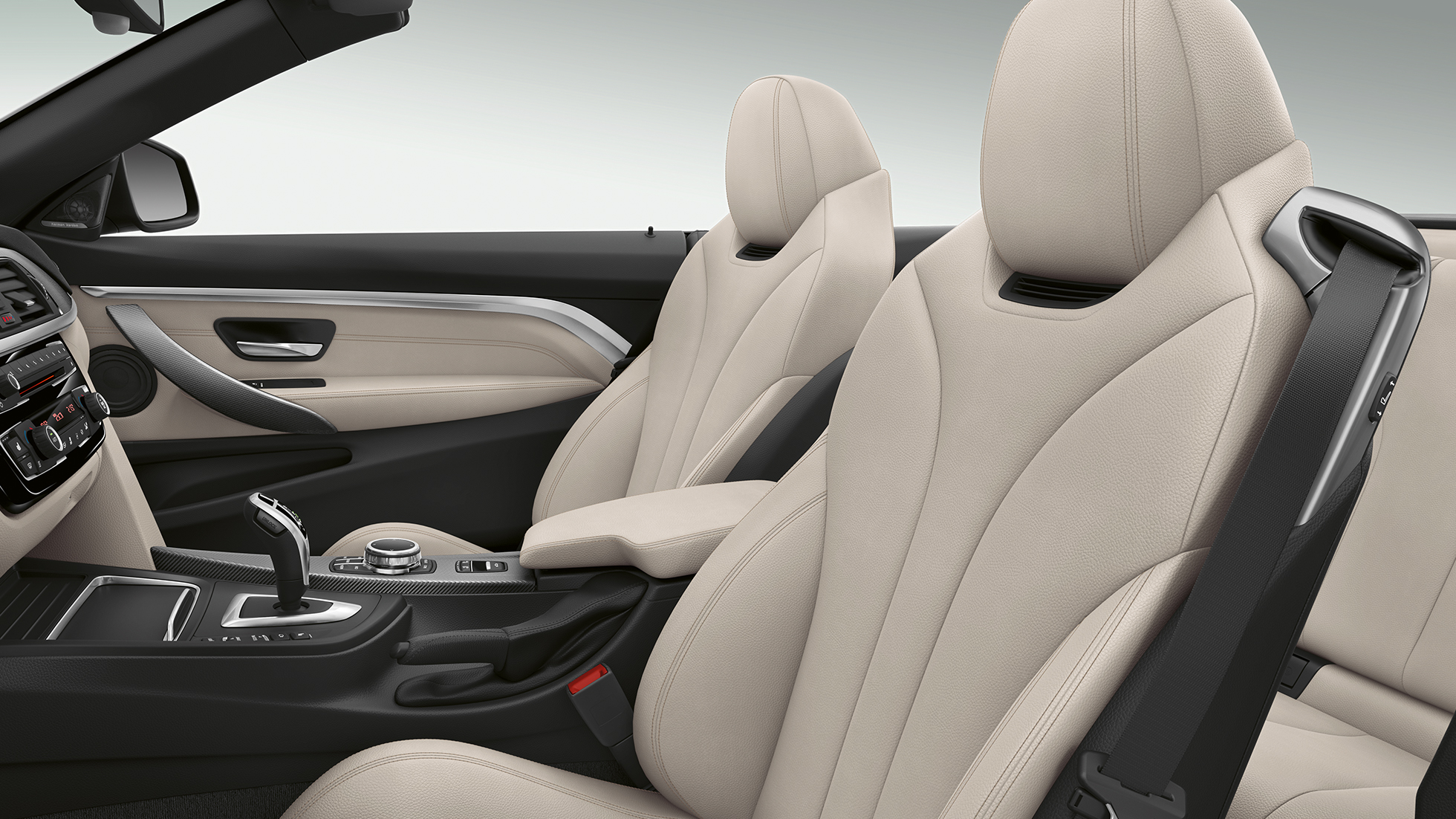 BMW Serie 4 Cabrio, Acabado Luxury, interior