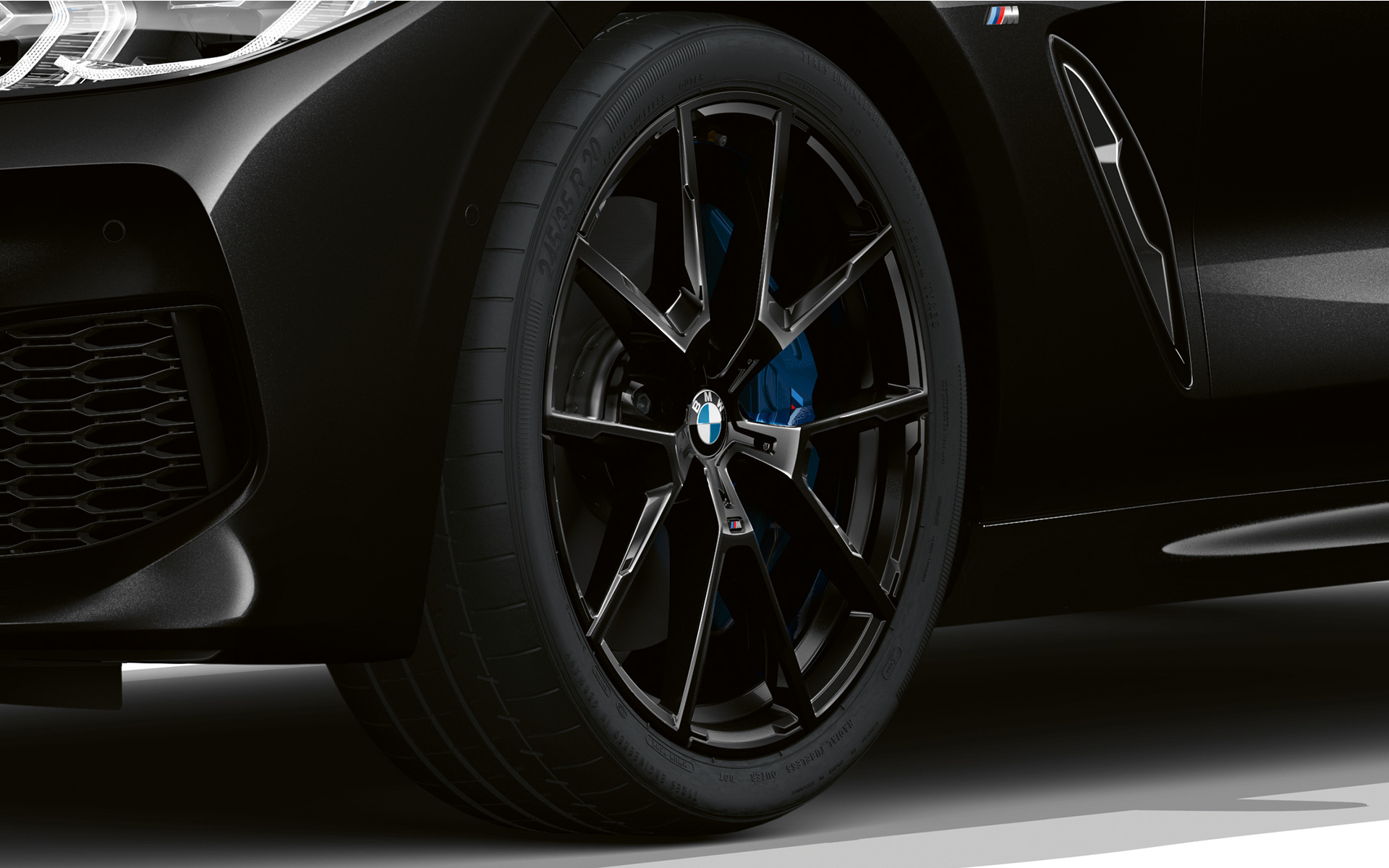 BMW Serie 8 Gran Coupé, llantas Dark Seduction