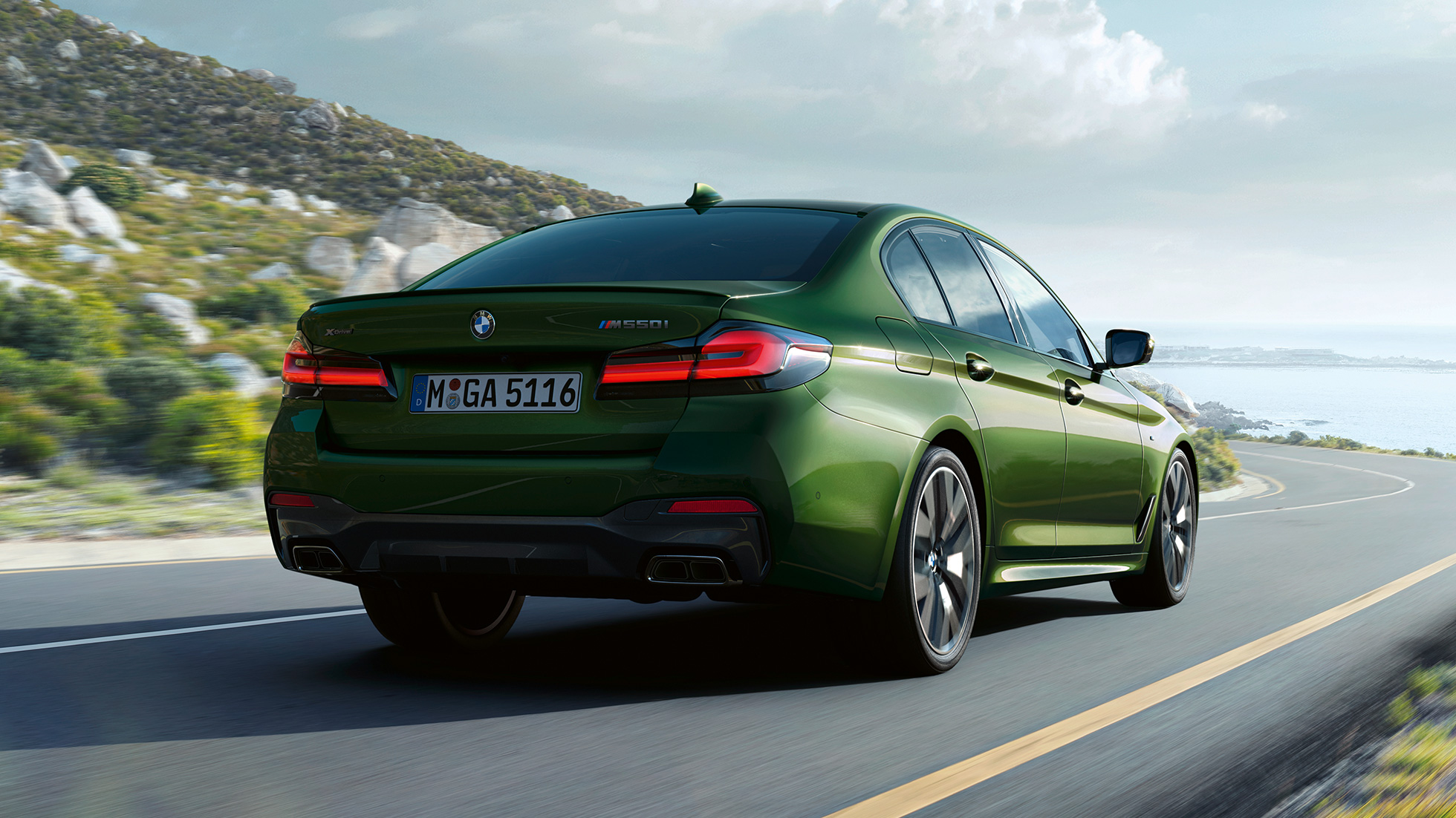 2020 BMW 550I Price