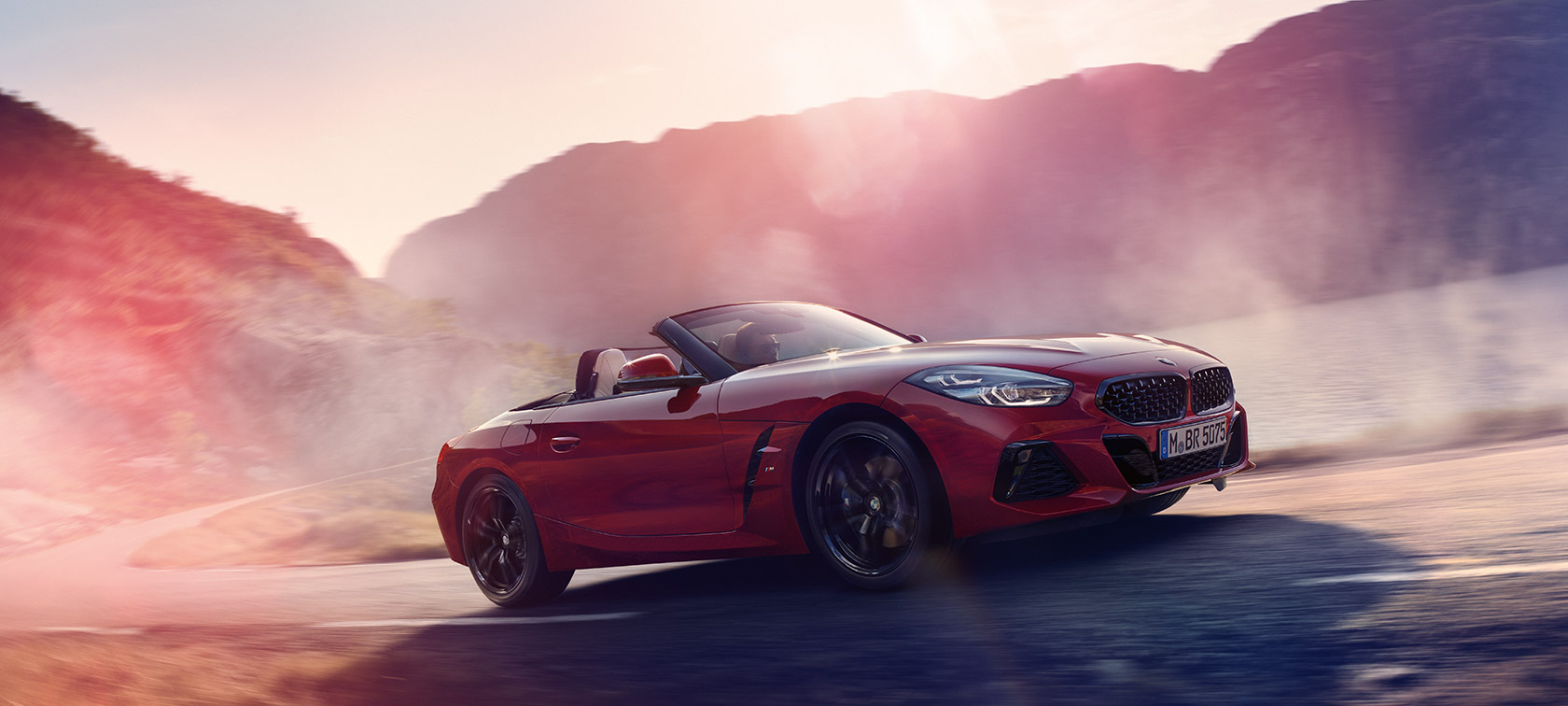 BMW Z4 Roadster en ascenso
