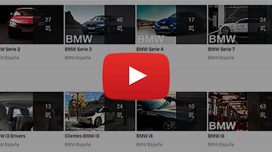 BMW en el canal de Youtube